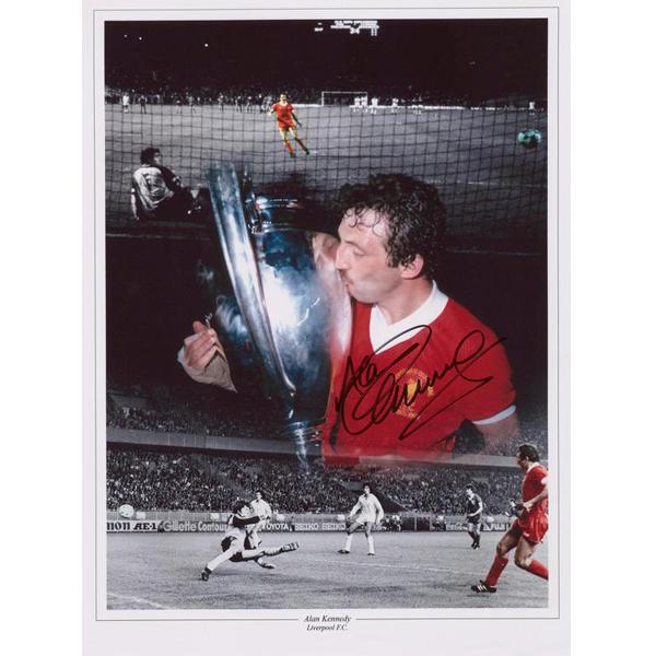 85b6d6cebd7 Alan Kennedy Hand Signed Liverpool PhotoStarSigned Memorabilia